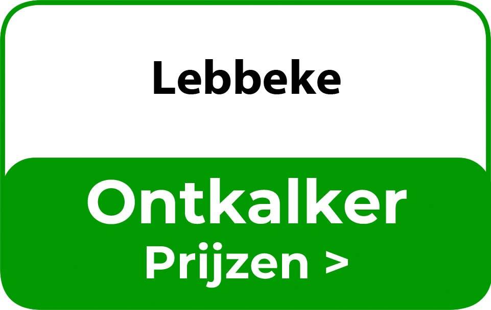 Ontkalker in de buurt van Lebbeke