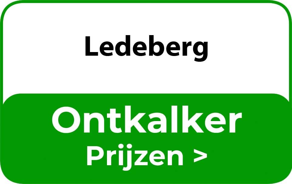 Ontkalker in de buurt van Ledeberg