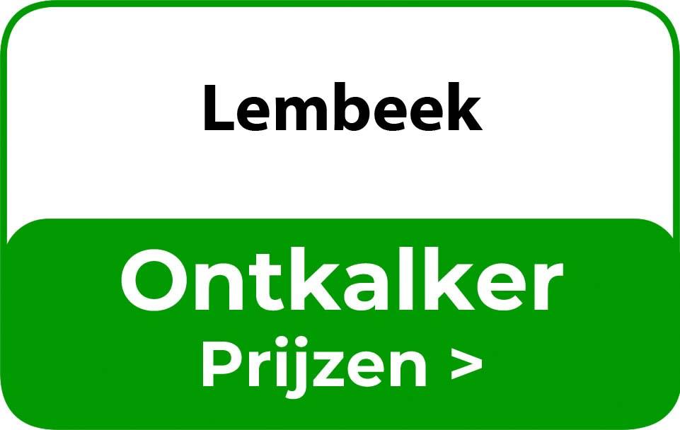 Ontkalker in de buurt van Lembeek
