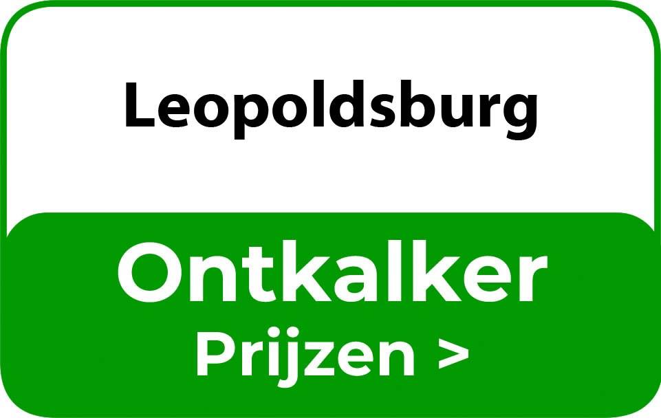Ontkalker in de buurt van Leopoldsburg