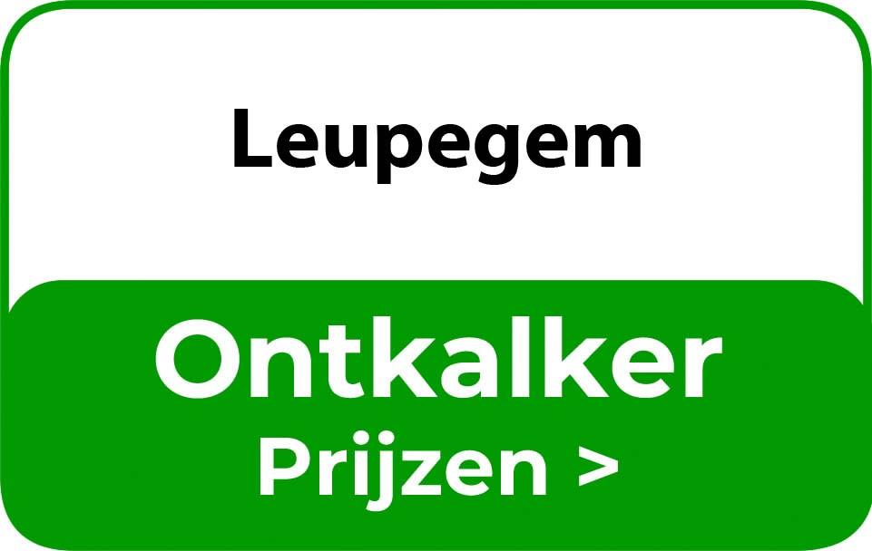 Ontkalker in de buurt van Leupegem