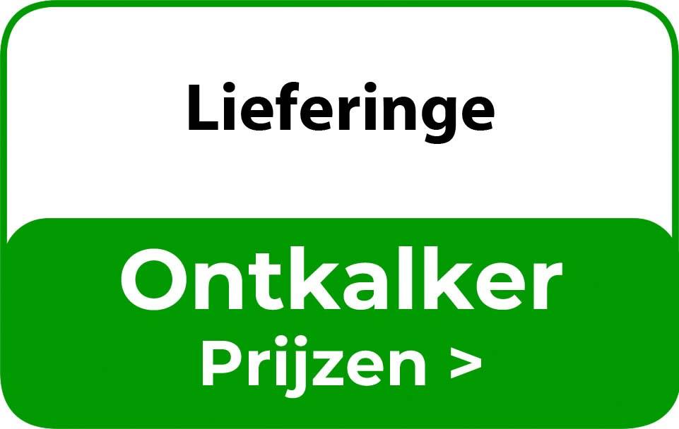 Ontkalker in de buurt van Lieferinge