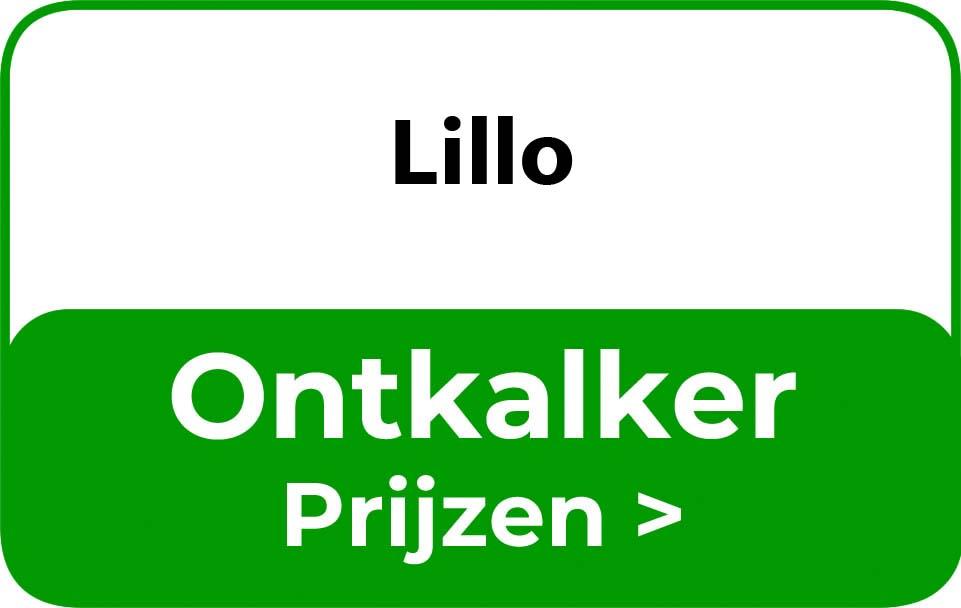 Ontkalker in de buurt van Lillo