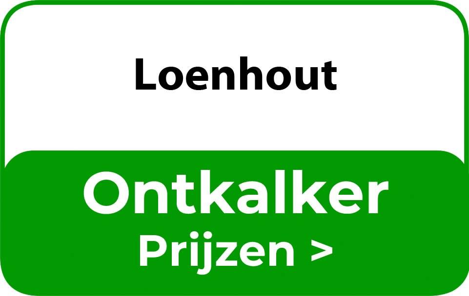 Ontkalker in de buurt van Loenhout