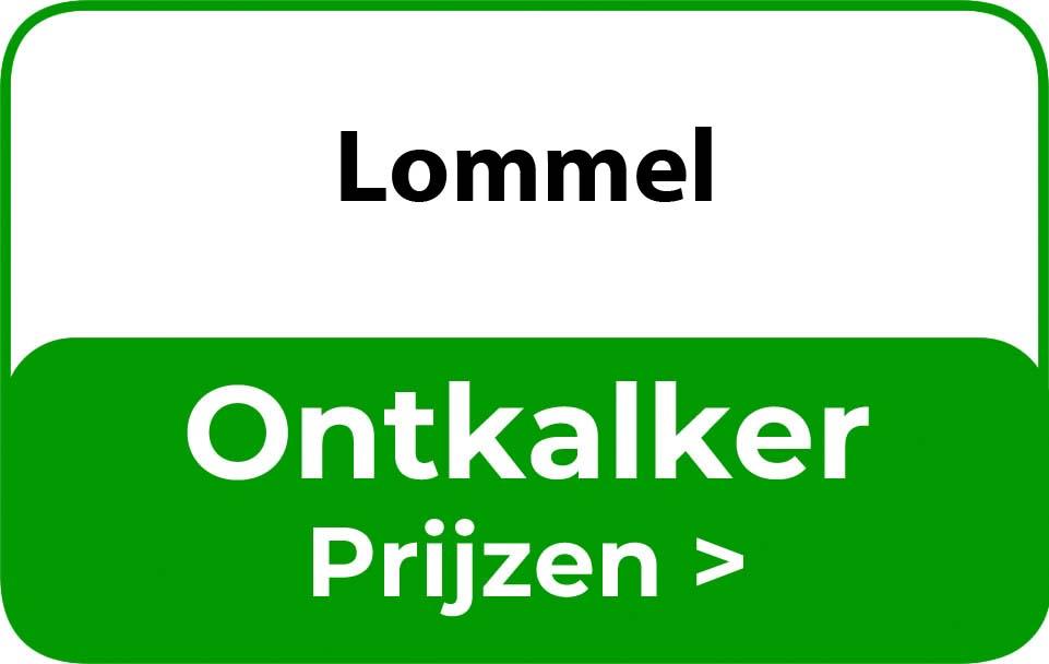 Ontkalker in de buurt van Lommel