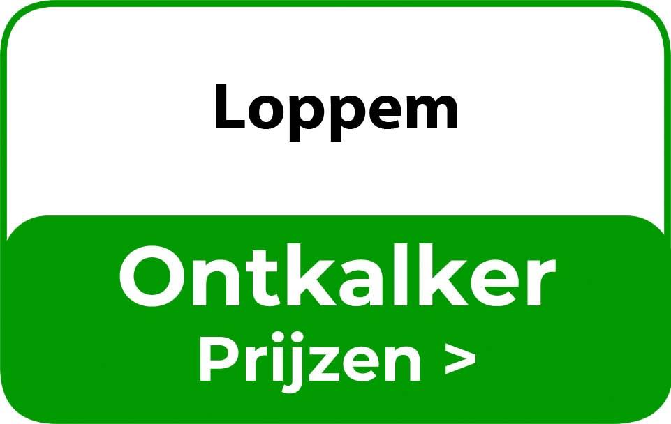 Ontkalker in de buurt van Loppem
