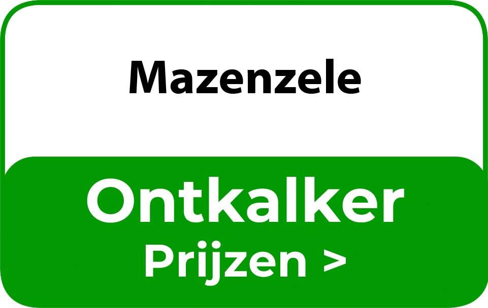 Ontkalker in de buurt van Mazenzele
