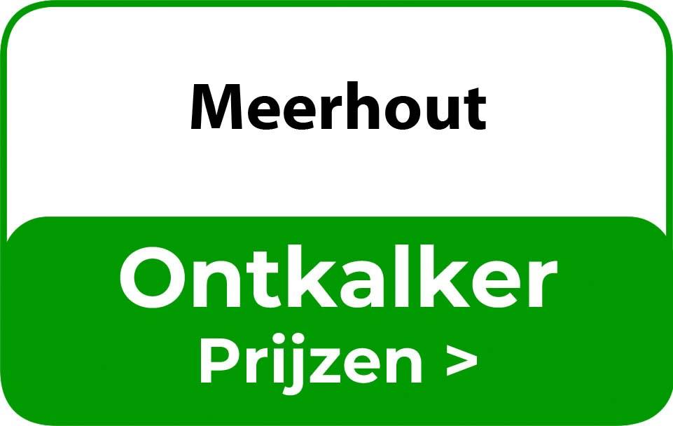 Ontkalker in de buurt van Meerhout