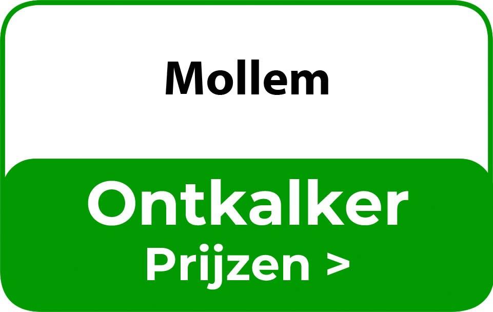 Ontkalker in de buurt van Mollem