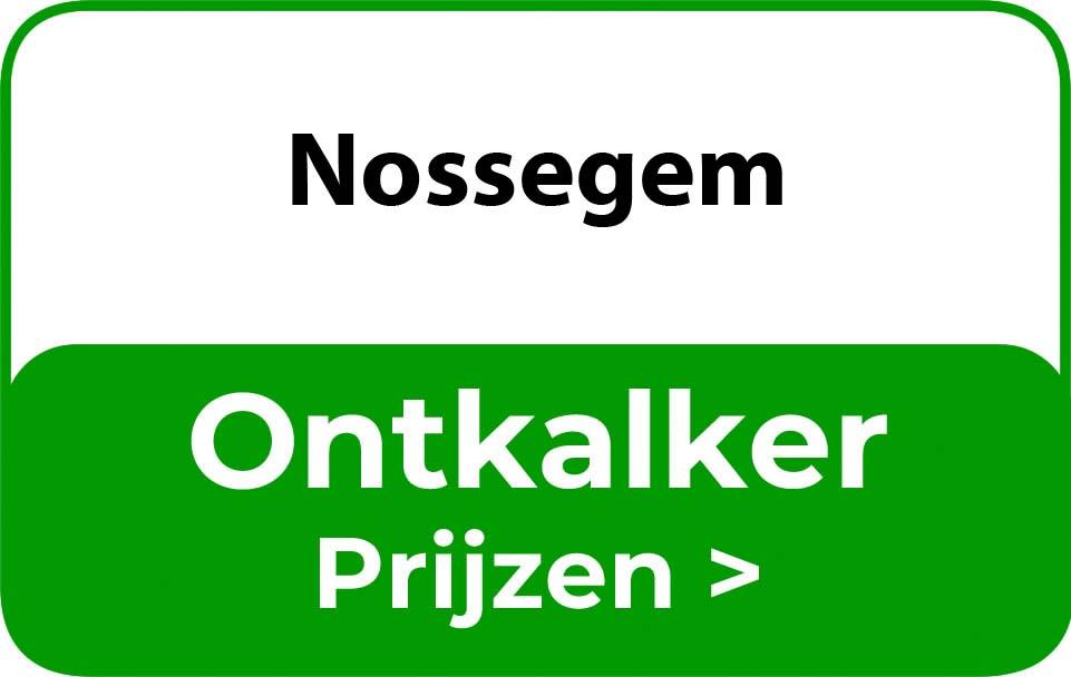 Ontkalker in de buurt van Nossegem