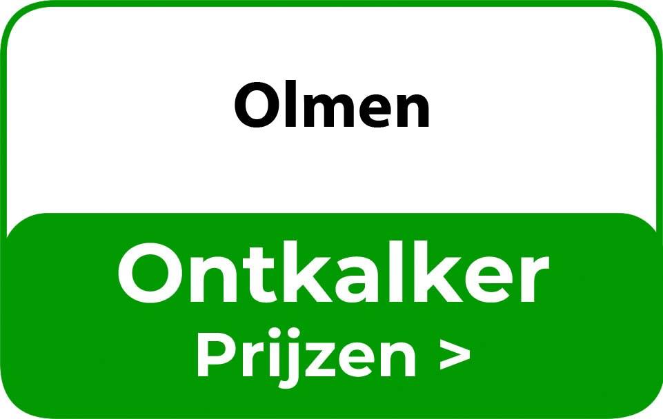 Ontkalker in de buurt van Olmen