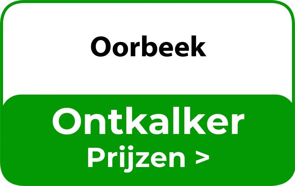 Ontkalker in de buurt van Oorbeek