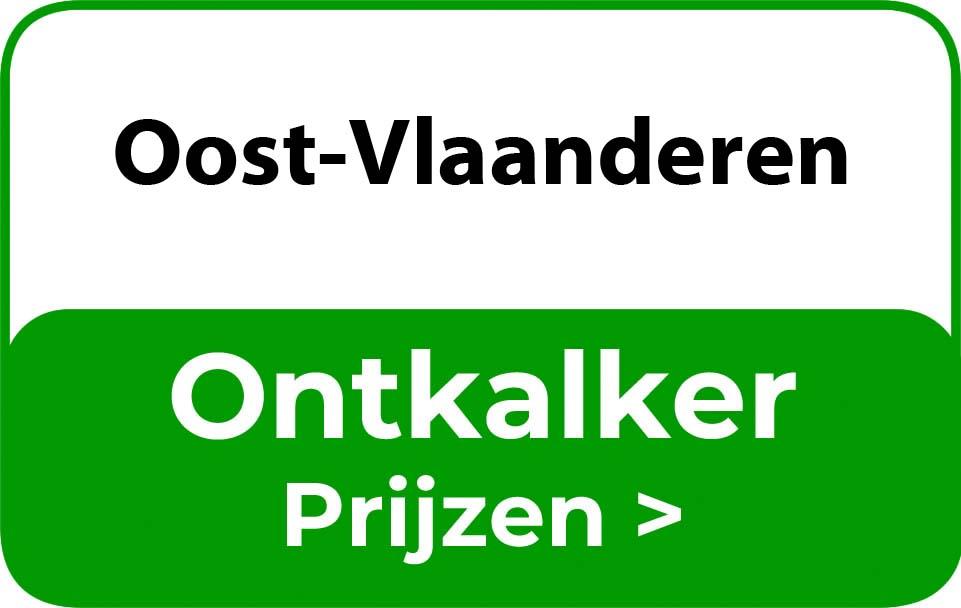 Ontkalker in de buurt van Oost-Vlaanderen