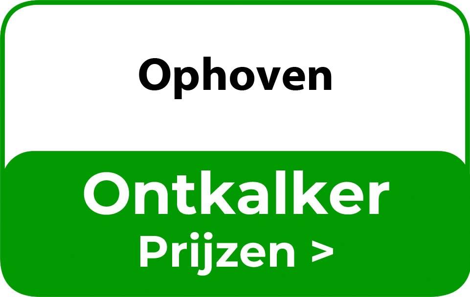 Ontkalker in de buurt van Ophoven