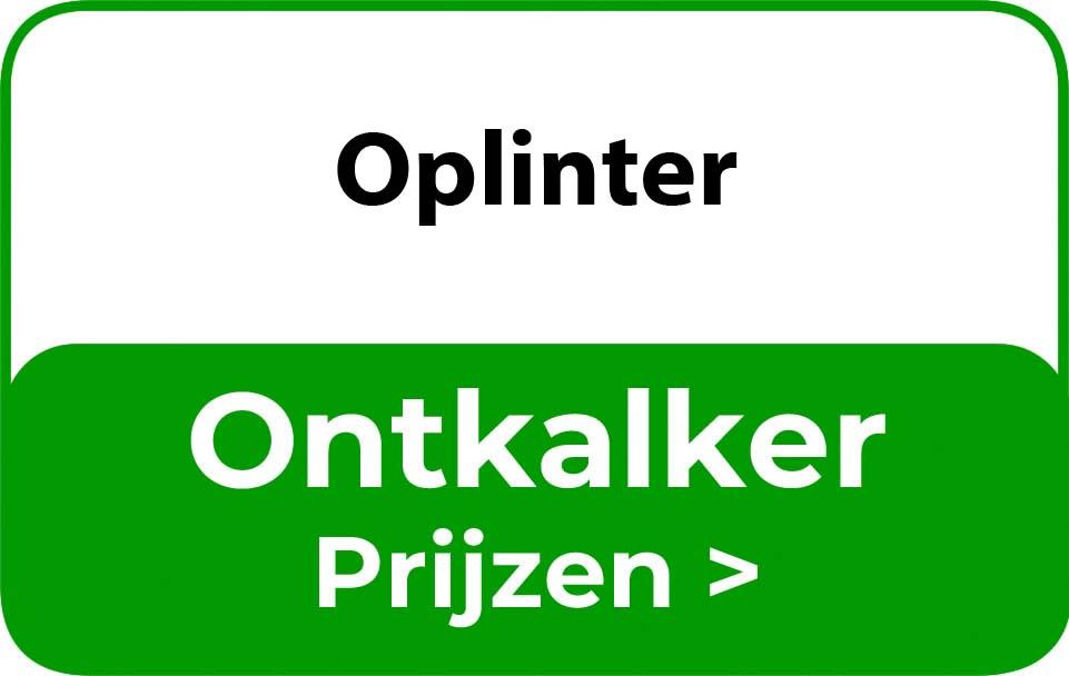 Ontkalker in de buurt van Oplinter