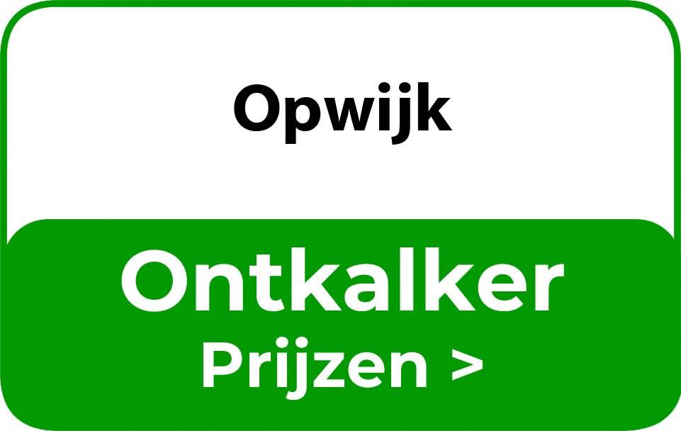Ontkalker in de buurt van Opwijk