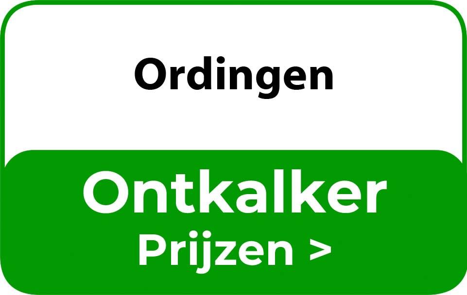 Ontkalker in de buurt van Ordingen