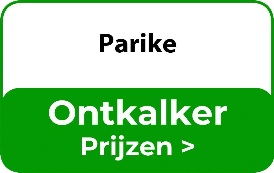 Ontkalker in de buurt van Parike