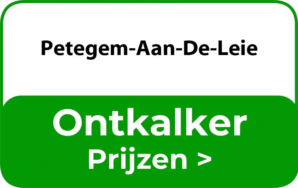 Ontkalker in de buurt van Petegem-Aan-De-Leie