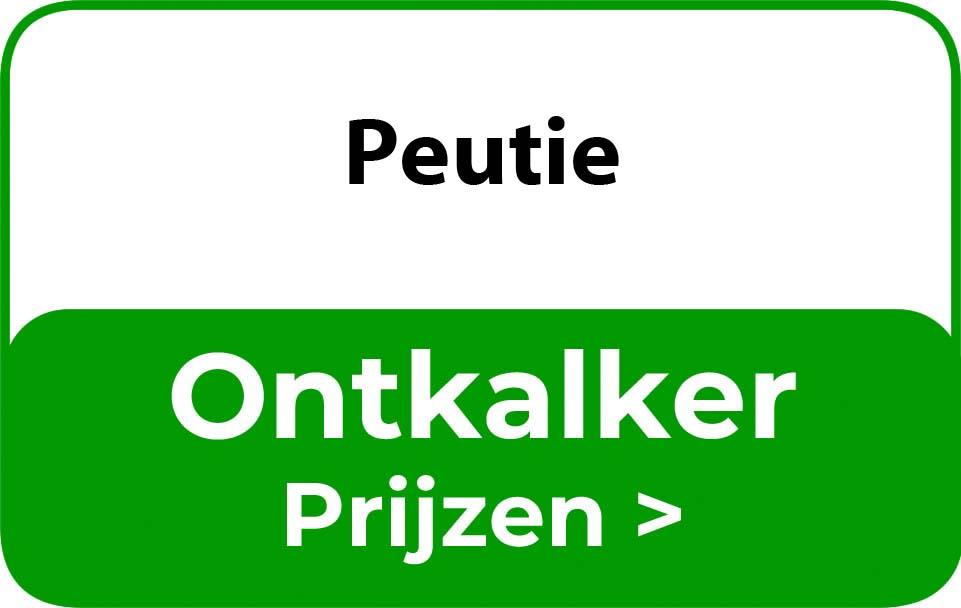 Ontkalker in de buurt van Peutie