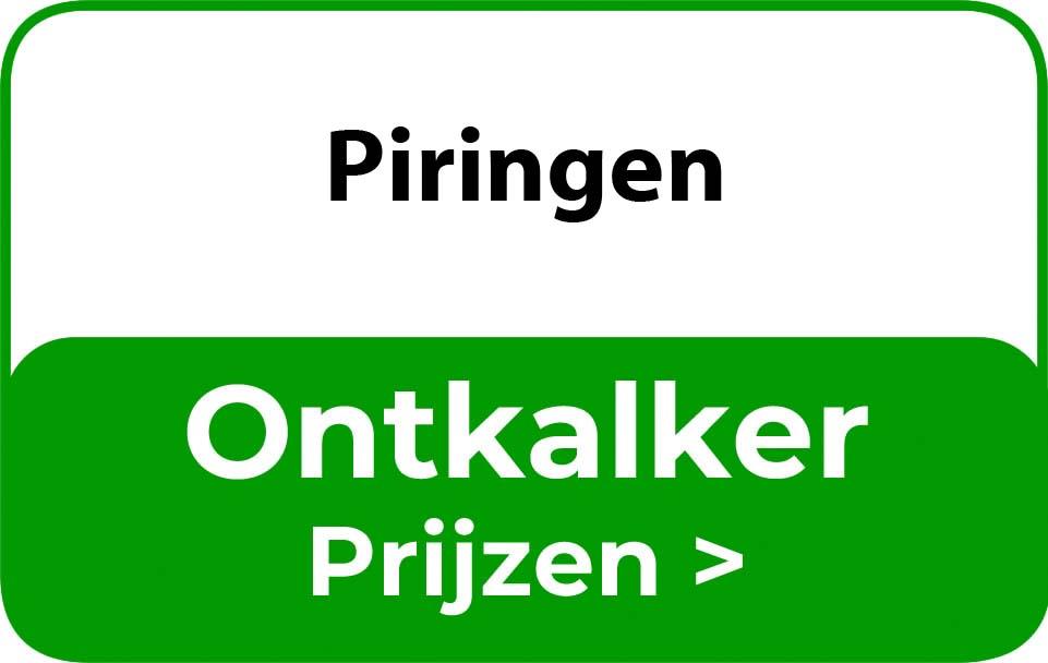 Ontkalker in de buurt van Piringen