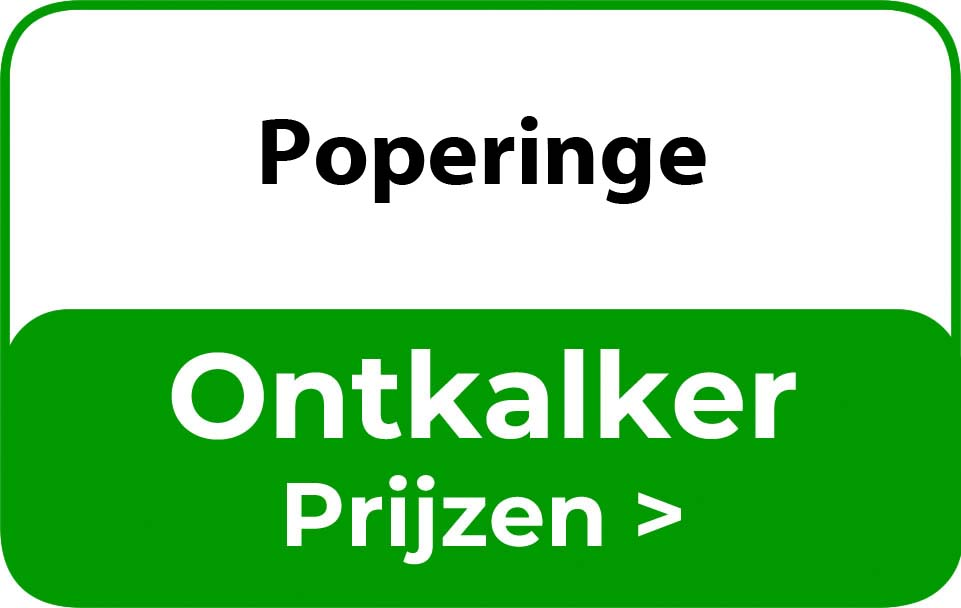 Ontkalker in de buurt van Poperinge