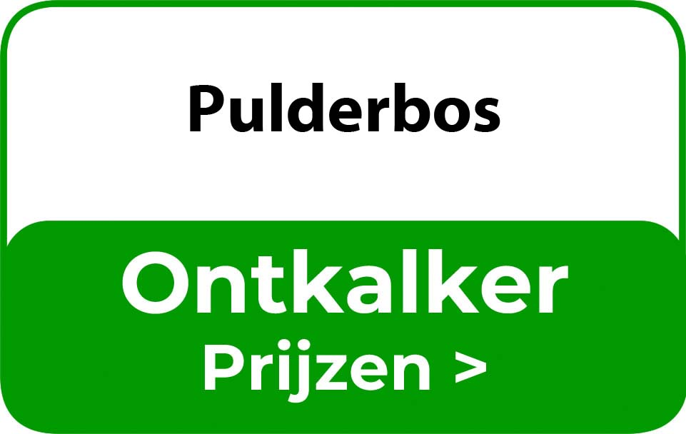 Ontkalker in de buurt van Pulderbos