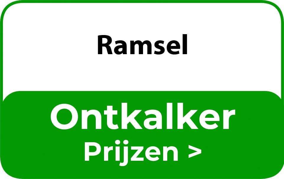 Ontkalker in de buurt van Ramsel