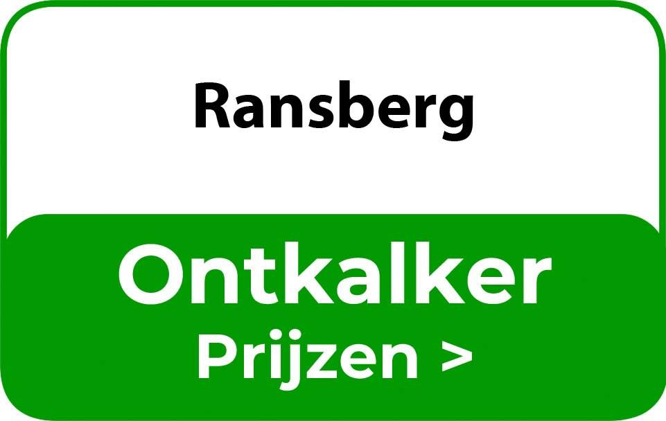 Ontkalker in de buurt van Ransberg