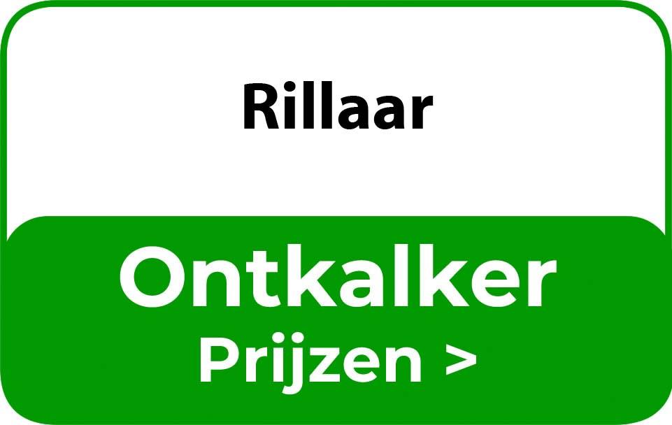 Ontkalker in de buurt van Rillaar