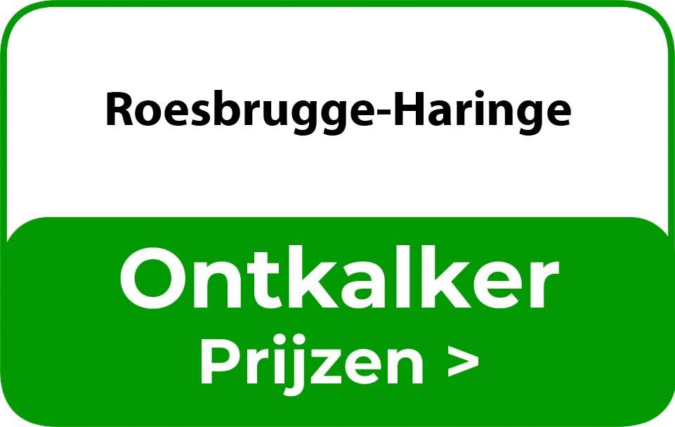 Ontkalker in de buurt van Roesbrugge-Haringe