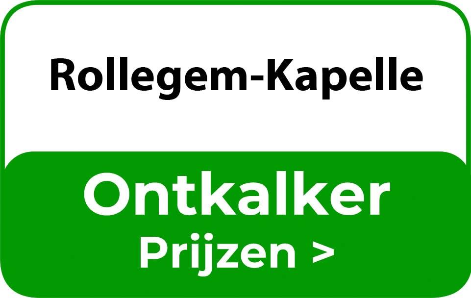 Ontkalker in de buurt van Rollegem-Kapelle