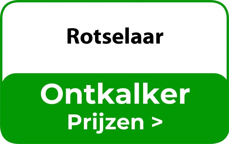 Ontkalker in de buurt van Rotselaar