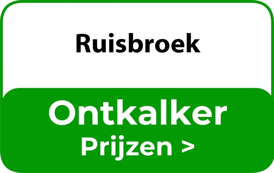 Ontkalker in de buurt van Ruisbroek