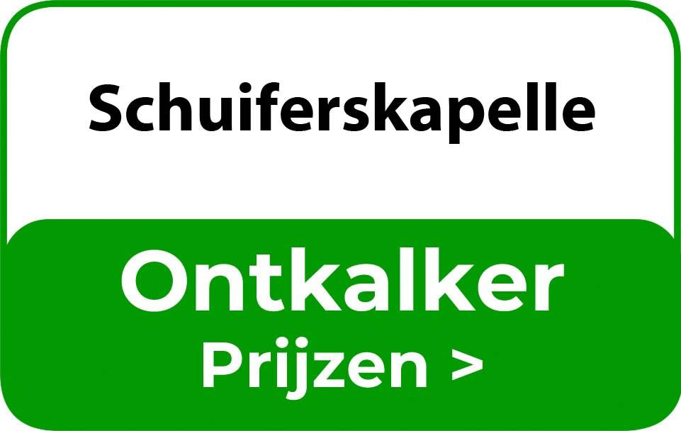 Ontkalker in de buurt van Schuiferskapelle