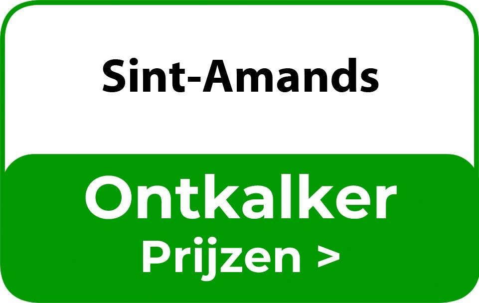 Ontkalker in de buurt van Sint-Amands