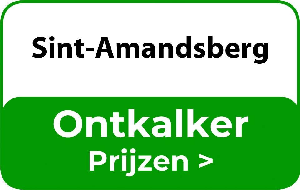 Ontkalker in de buurt van Sint-Amandsberg