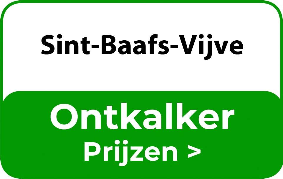 Ontkalker in de buurt van Sint-Baafs-Vijve