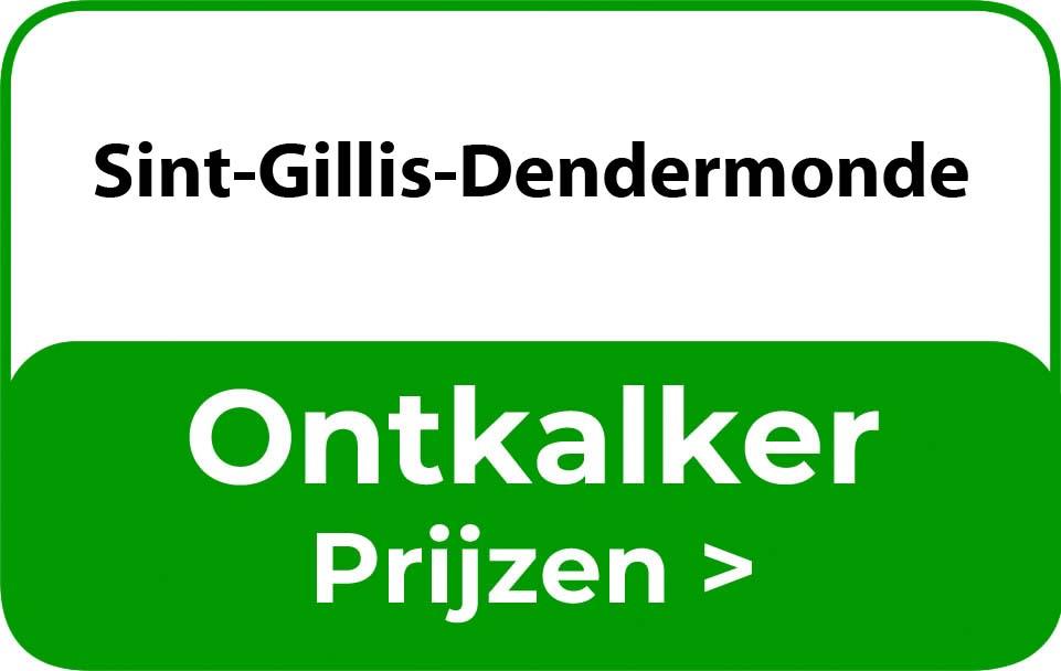 Ontkalker in de buurt van Sint-Gillis-Dendermonde