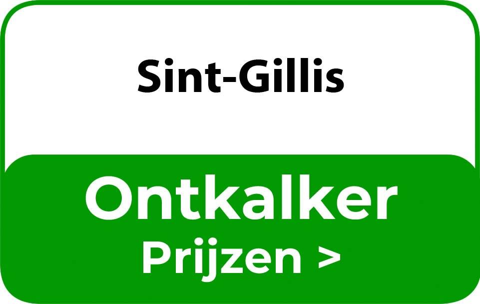 Ontkalker in de buurt van Sint-Gillis