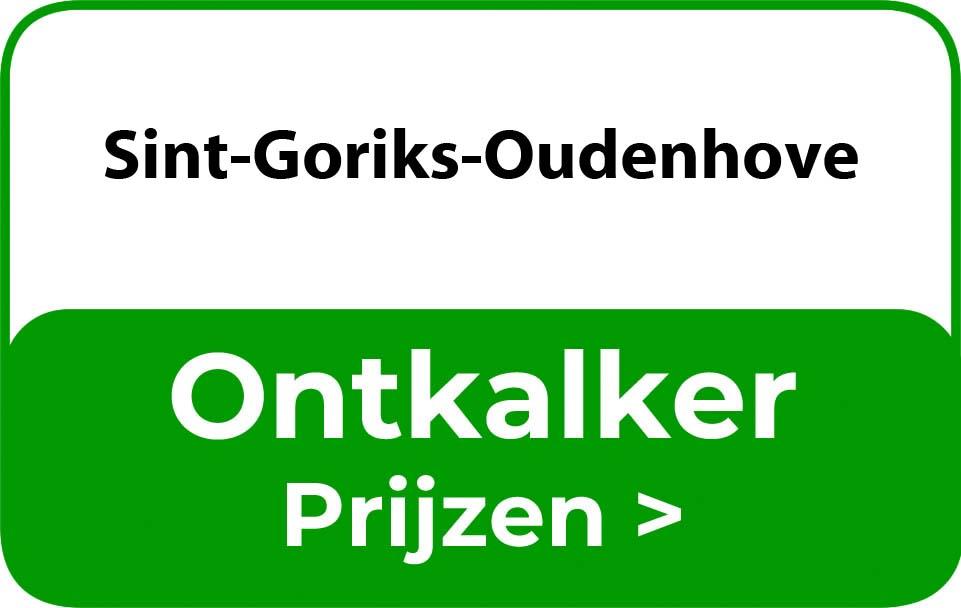 Ontkalker in de buurt van Sint-Goriks-Oudenhove