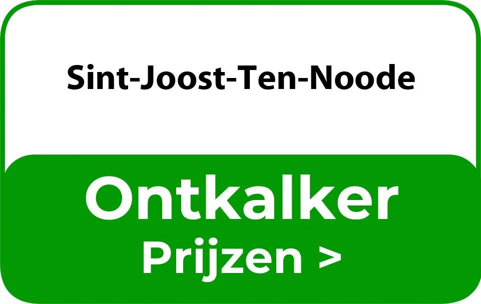 Ontkalker in de buurt van Sint-Joost-Ten-Noode