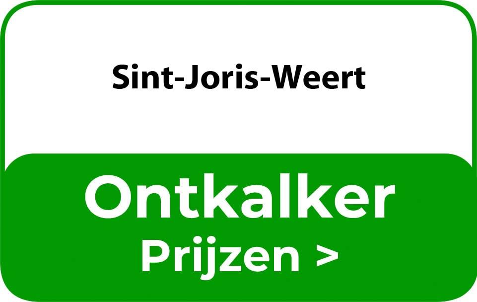 Ontkalker in de buurt van Sint-Joris-Weert