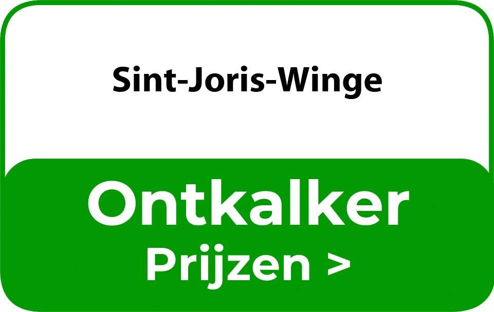 Ontkalker in de buurt van Sint-Joris-Winge