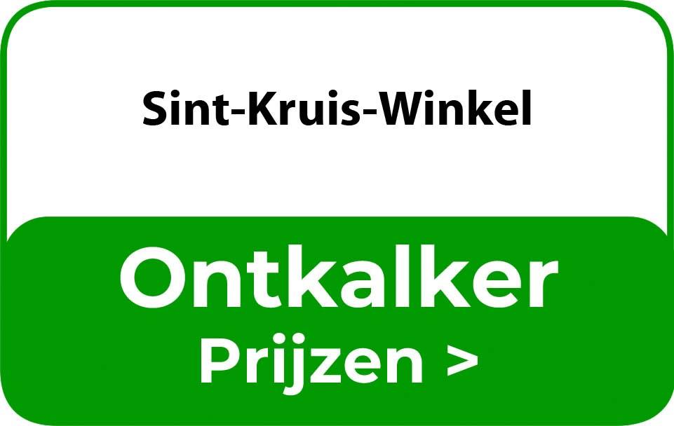 Ontkalker in de buurt van Sint-Kruis-Winkel