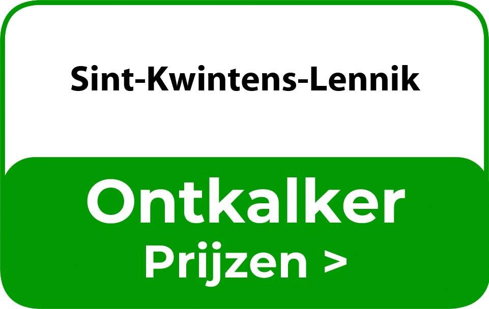 Ontkalker in de buurt van Sint-Kwintens-Lennik