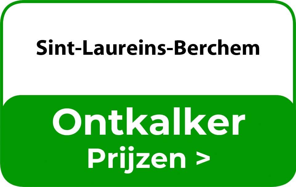 Ontkalker in de buurt van Sint-Laureins-Berchem