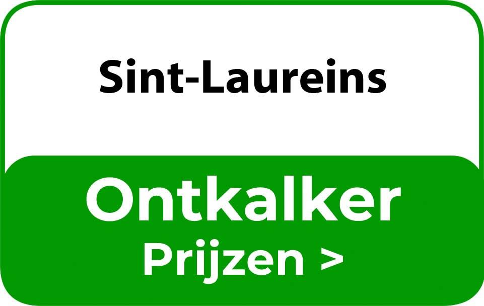 Ontkalker in de buurt van Sint-Laureins