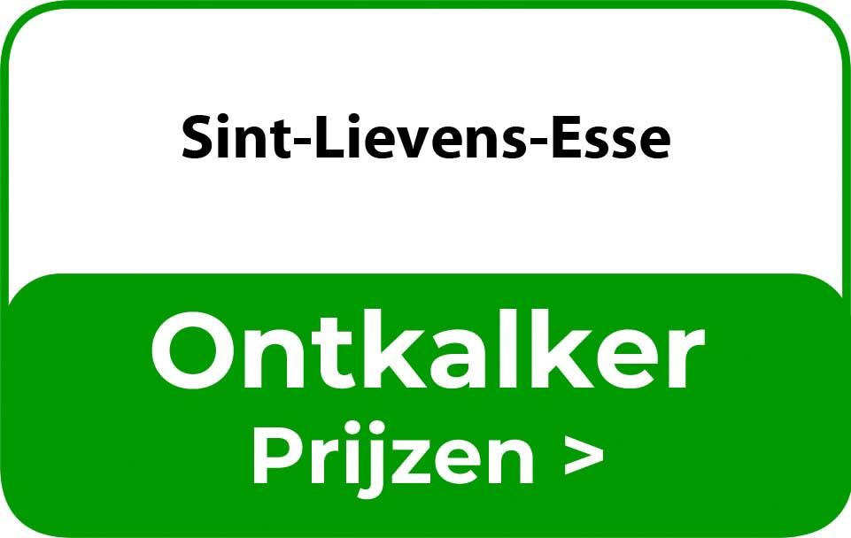 Ontkalker in de buurt van Sint-Lievens-Esse