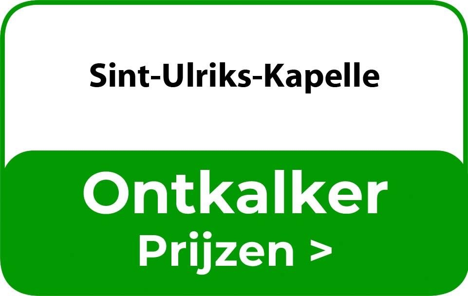 Ontkalker in de buurt van Sint-Ulriks-Kapelle